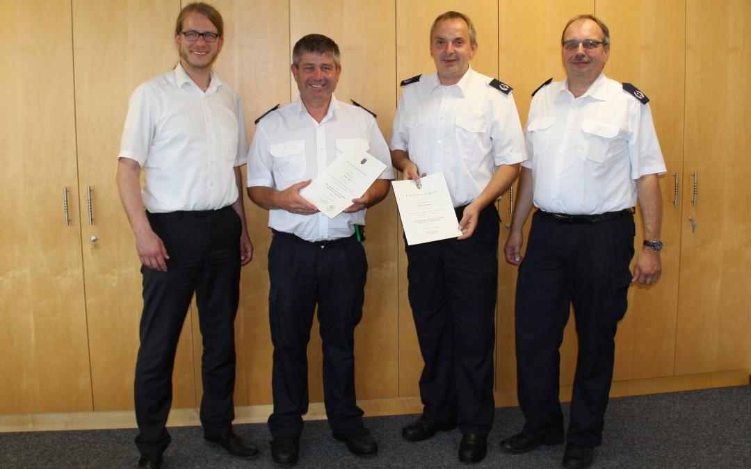 Ernennung stellvertretende Feuerwehrleitung