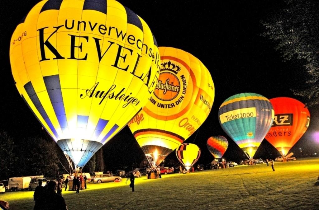 Vom 08. bis 10. Juli findet in Kevelaer das 22. Heißluft-Ballon-Festival statt
