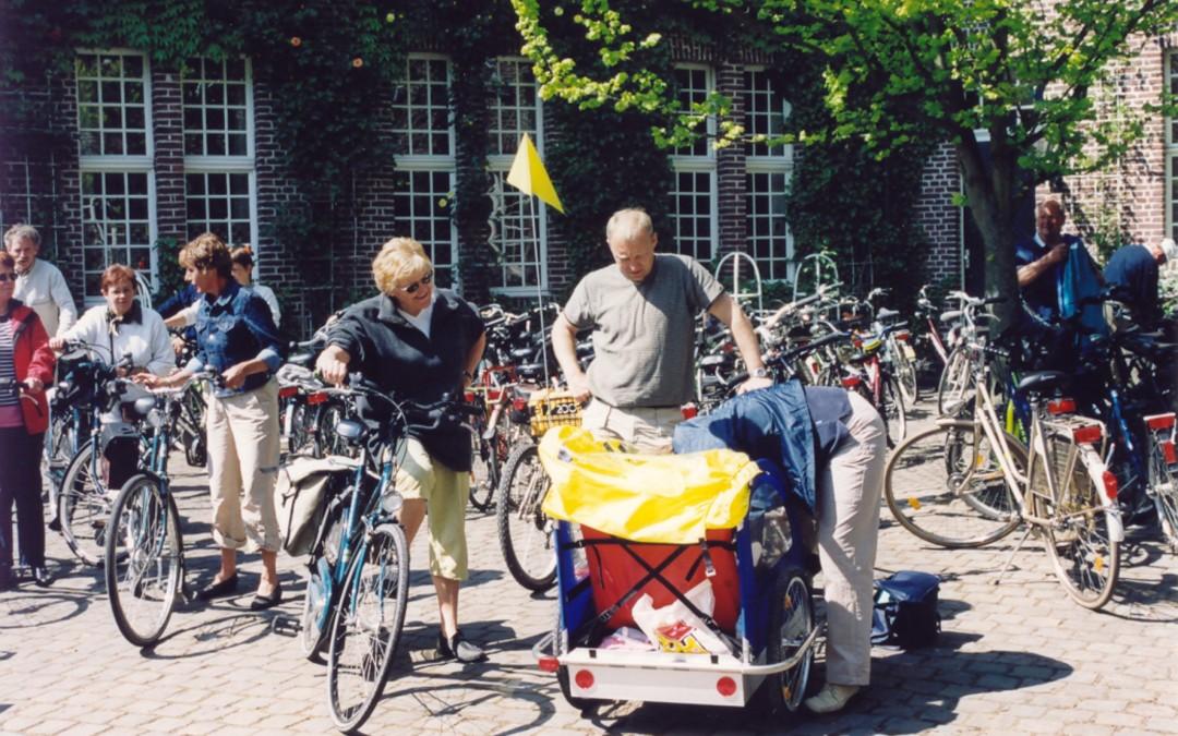 Fünf Routen starten ab Kevelaer  zum Niederrheinischen Radwandertag:
