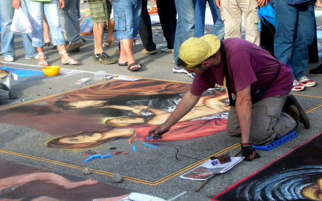 """1. Internationales Madonnari-Festival"" und ""Weingasse"" am Museum"