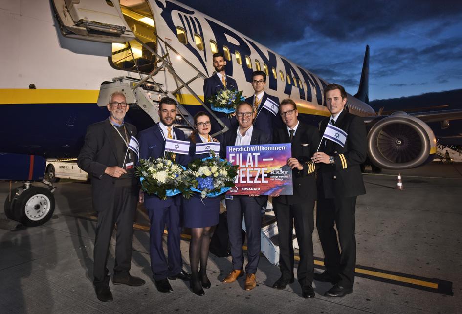 Airport Weeze eröffnete erste Linienverbindung nach Israel