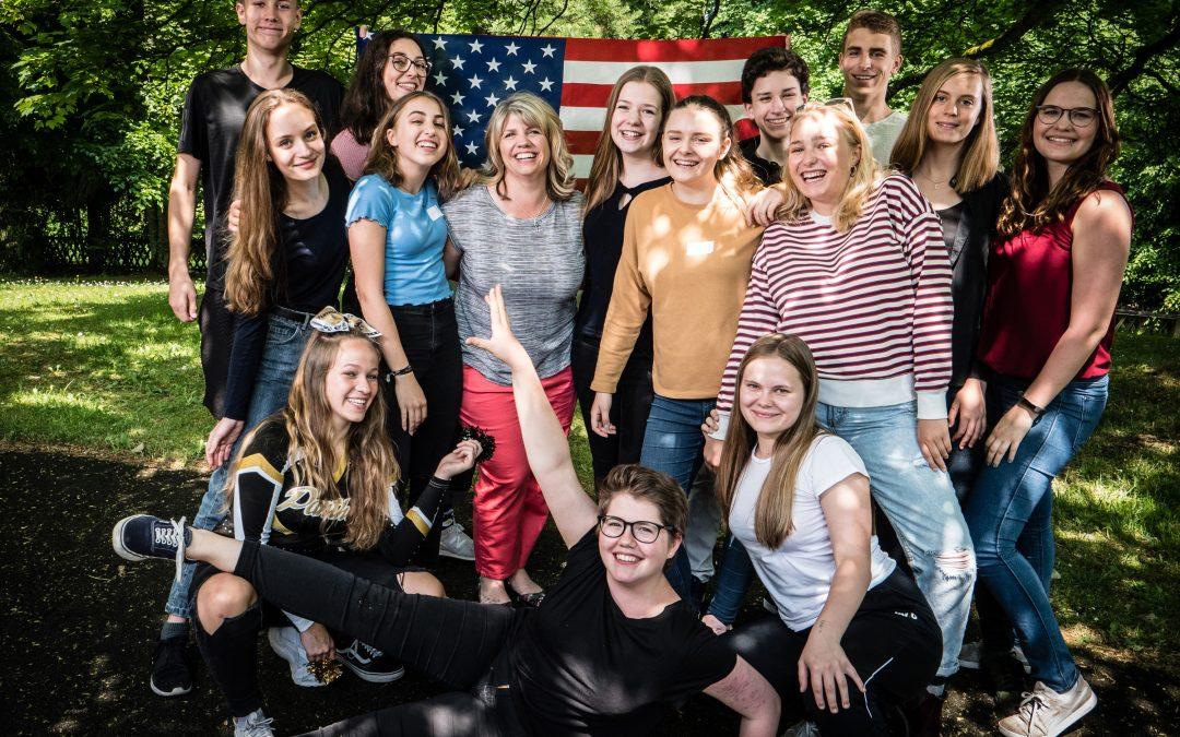 Schüler aus den USA zu Gast in Kevelaer