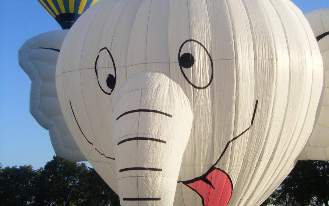 Am 06. und 07. Juli findet in Kevelaer das 24. Heißluft-Ballon-Festival statt:  Ballonwiese in diesem Jahr im Zeichen der Fußball-WM