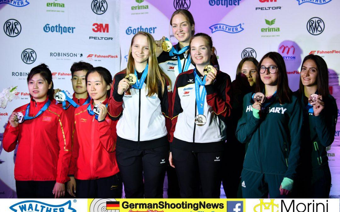 Gold – Gold – Weltrekord ….. Anna Janssen