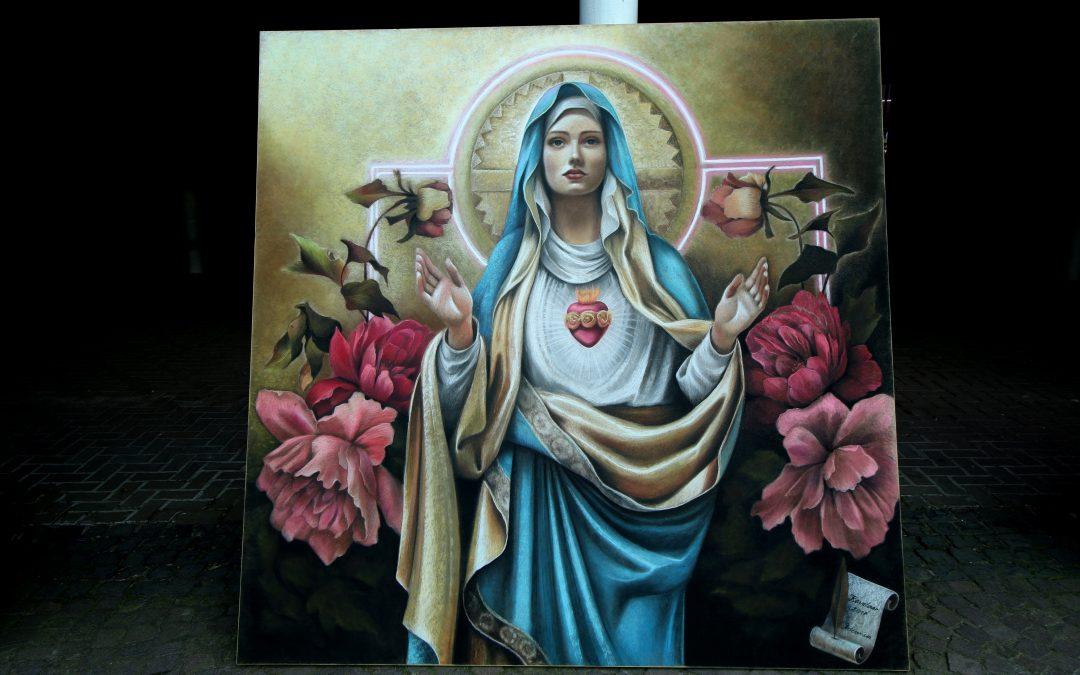 """Künstlerprämierung beim zweiten """"Internationalen Madonnari-Festival"""""""