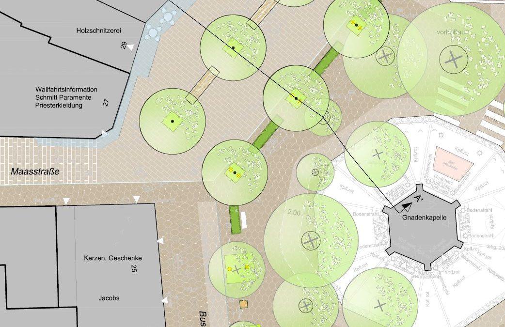 Kapellenplatzplanung wird vorgestellt