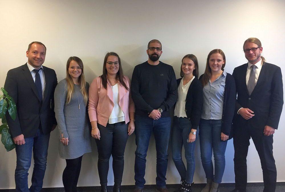 Wallfahrtsstadt Kevelaer: Nachwuchskräfte bestanden ihre Abschlussprüfung