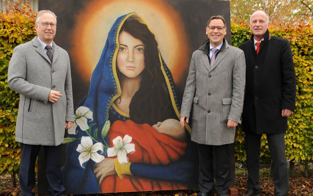 Sparkasse unterstützte Internationales Madonnari-Festival