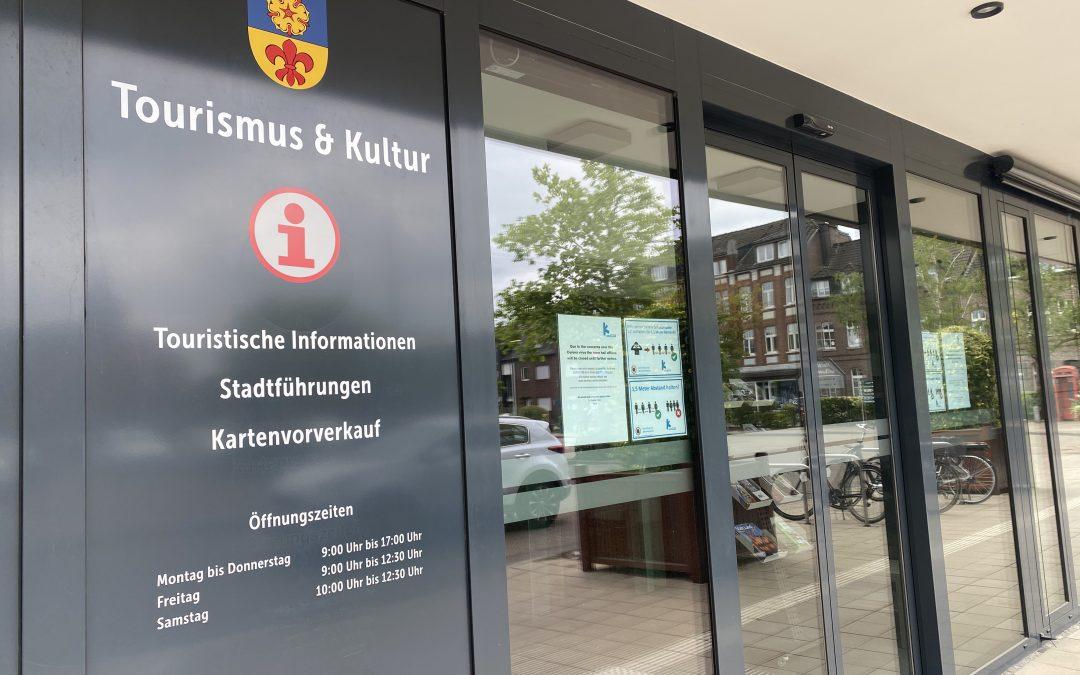 """Büro """"Tourismus & Kultur"""" der Wallfahrtsstadt Kevelaer öffnet wieder Ab Montag steht das Team bereit"""