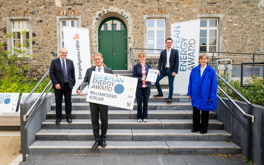 Wallfahrtsstadt Kevelaer mit dem European Energy Award ausgezeichnet
