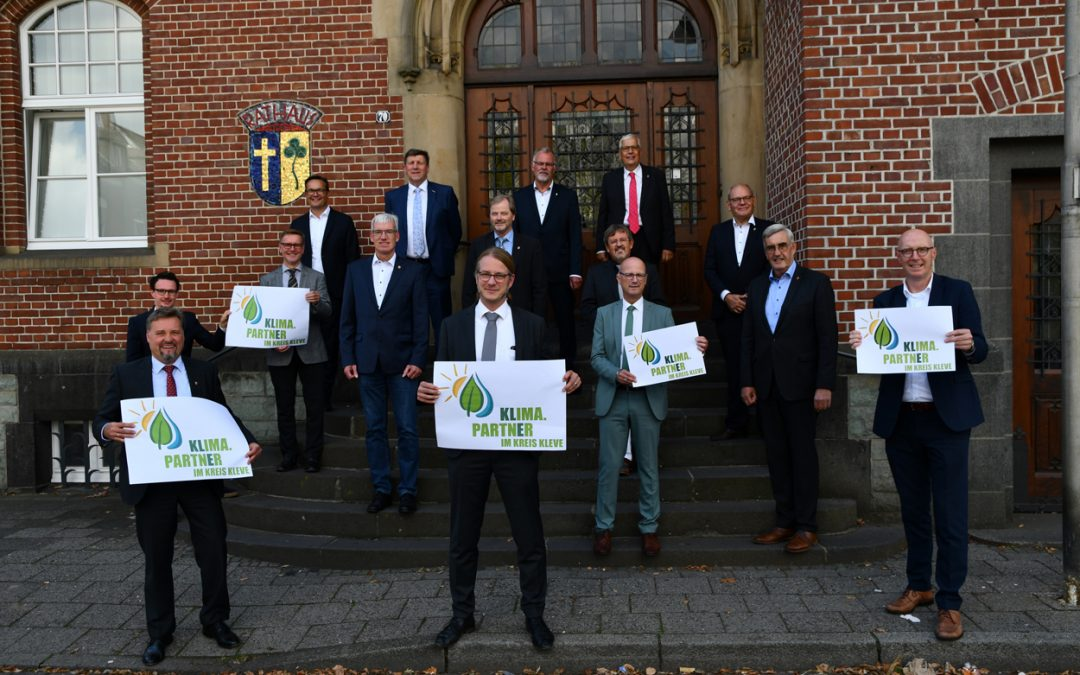 Klima.Partner der Kommunen im Kreis Kleve vereint unter neuem Logo