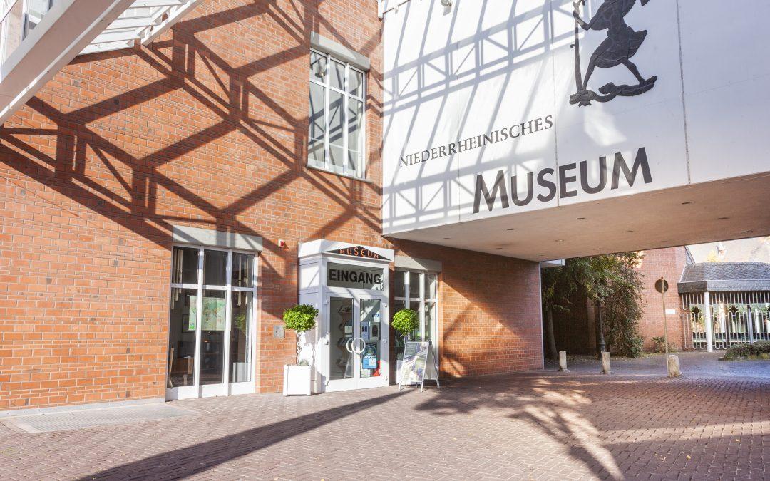 Schließung des Niederrheinischen Museums