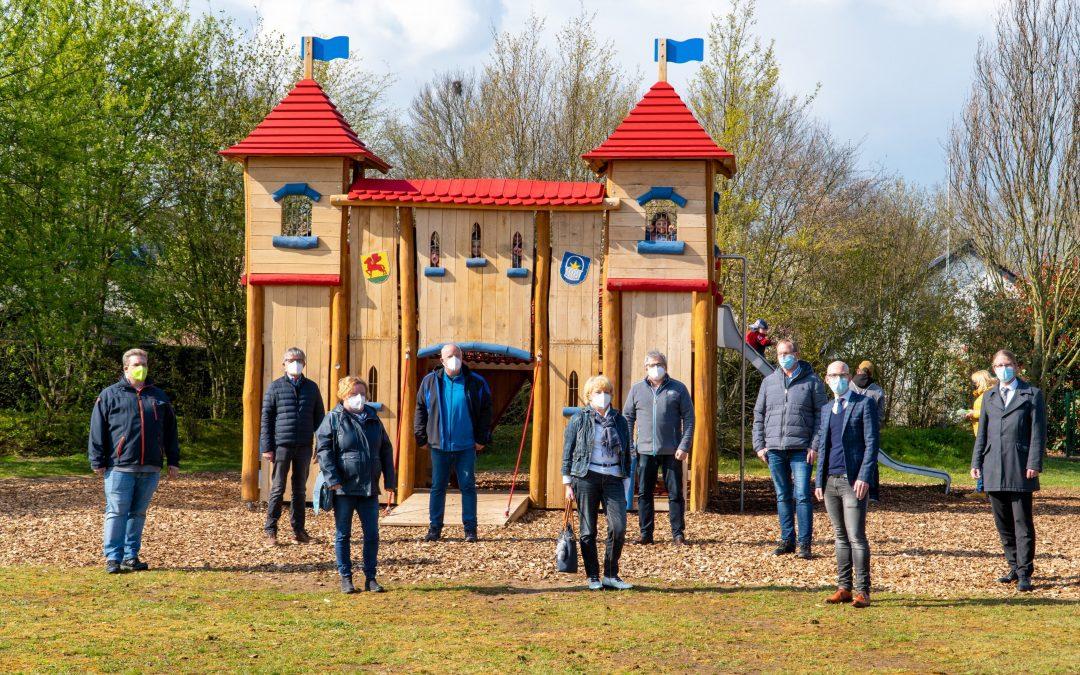 Spielplatz-Eröffnung in Kervenheim: