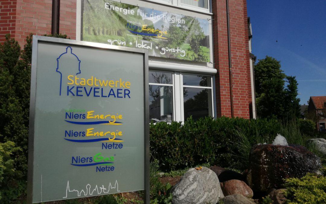 Ab dem 06. Juli wieder persönliche Beratung möglich:  Stadtwerke Kevelaer und NiersEnergie  öffnen wieder die Türen
