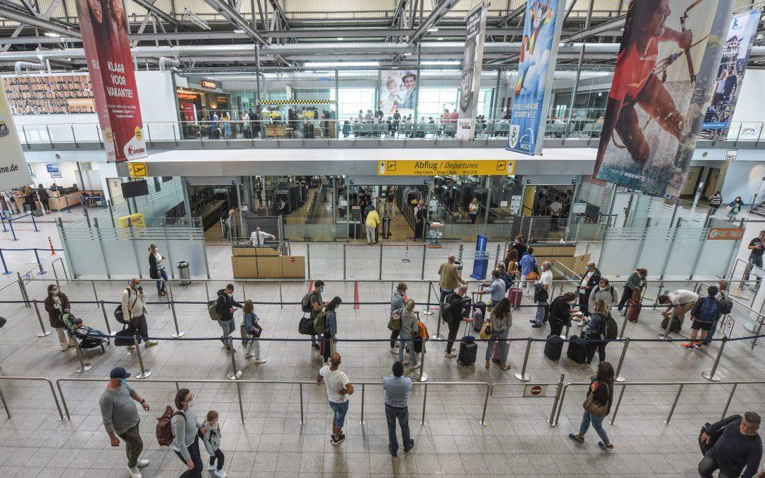 Auflebender Ferienbetrieb am Airport Weeze